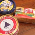 バター、マーガリン、Mentegaの間で