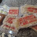 パチタン土産マグロの加工品たち