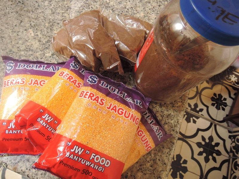 beras jagung kopi arabika
