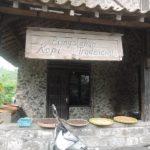 ムラピ山麓のコーヒーワルン