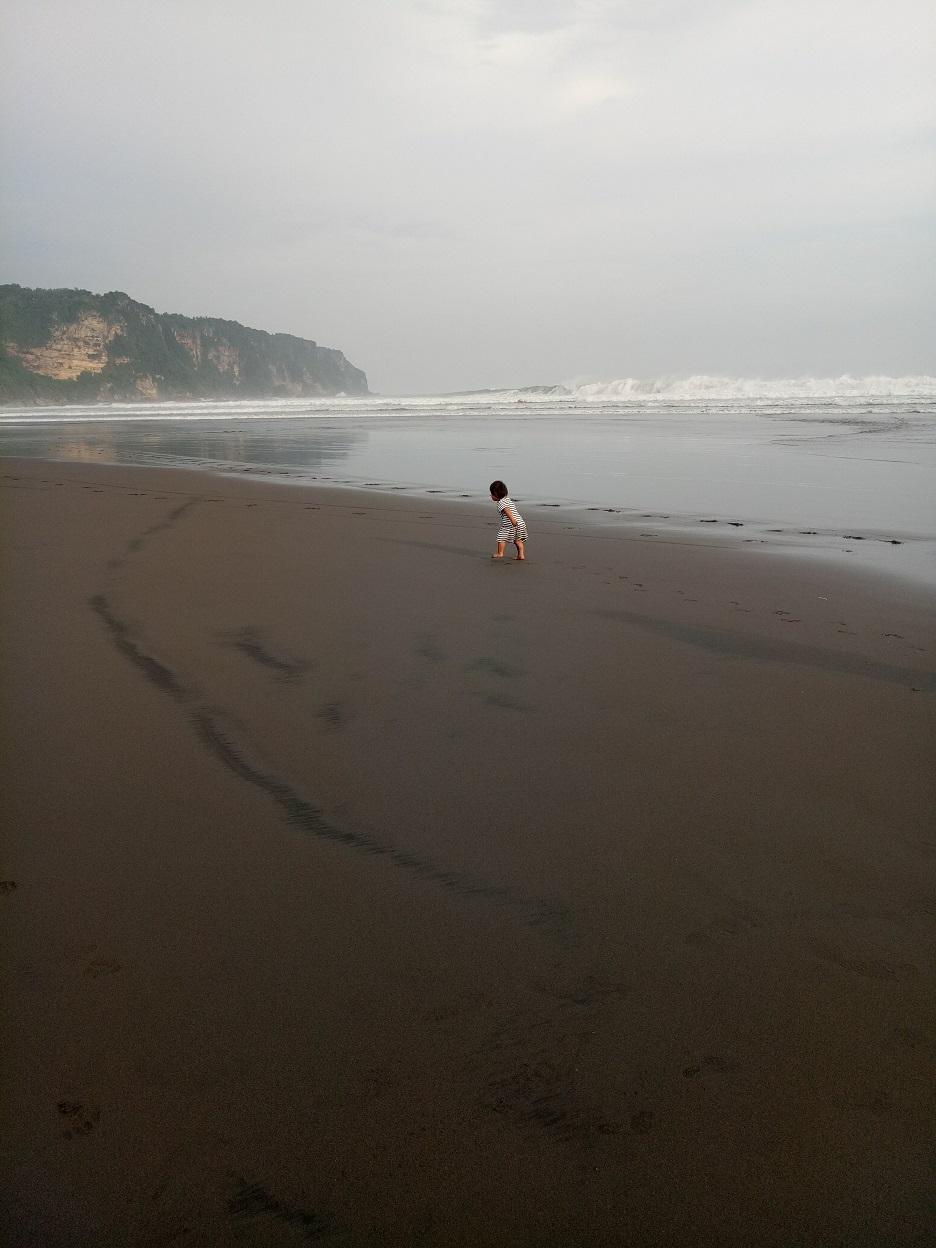 ジョグジャカルタの海
