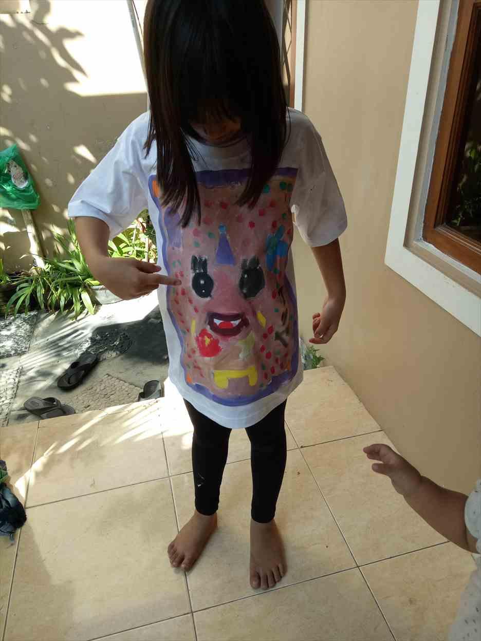 Tシャツペイント体験
