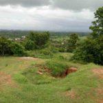 穴場スポットアバン遺跡からの眺め