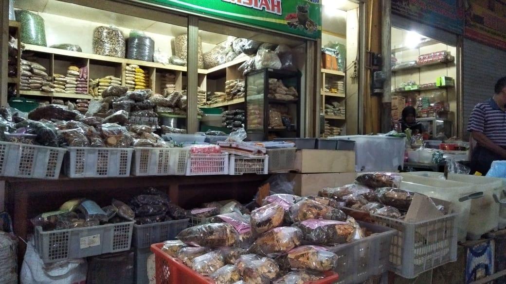 ジャムーの材料を売る店